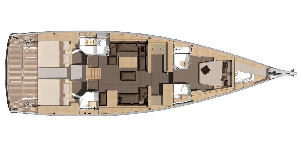 Navalia - Imbarcazione Dufour 560 GL 11