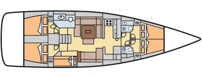 Navalia - Imbarcazione Dufour 512 Grand Large 13