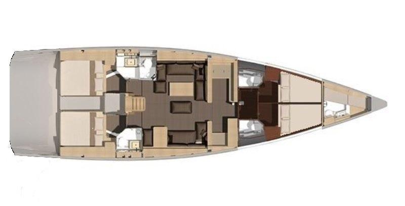 Navalia - Imbarcazione Dufour 560 12