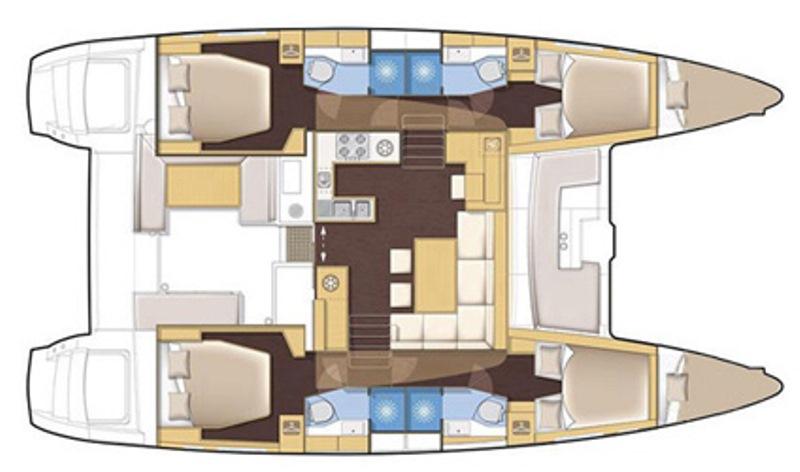 Navalia - Imbarcazione Lagoon 450 Sport Top 13
