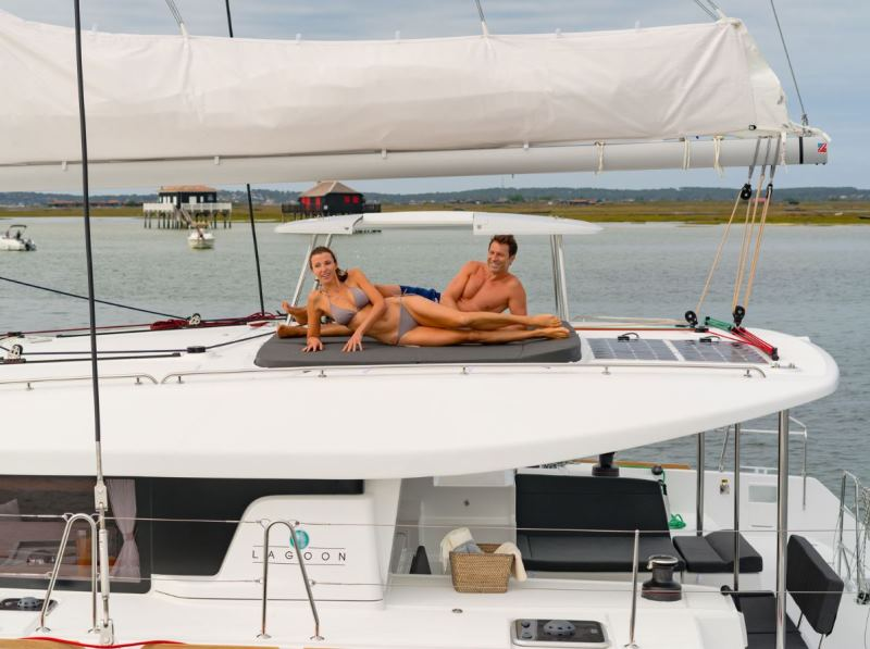 Navalia - Imbarcazione Lagoon 450 Sport Top 6
