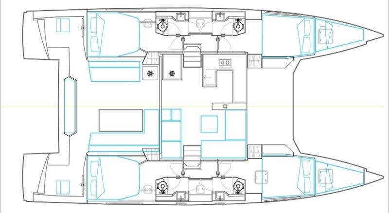 Navalia - Imbarcazione Nautitech 46 Fly 13