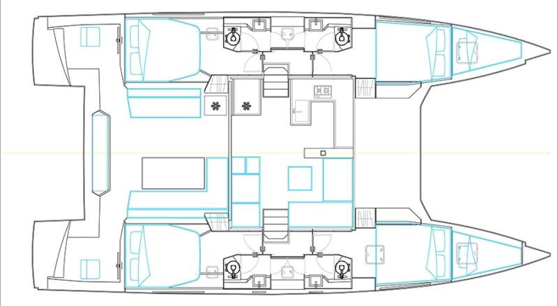 Navalia - Imbarcazione Nautitech Open 46 Fly 13