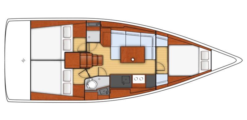 Navalia - Imbarcazione Oceanis 38 13