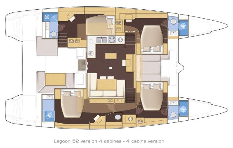 Navalia - Imbarcazione Lagoon 52 13