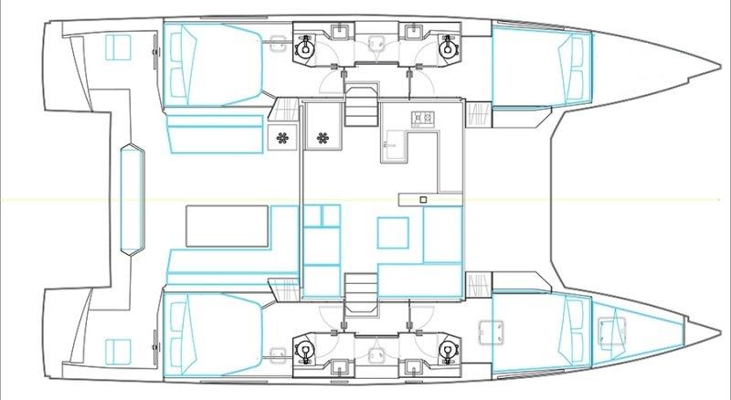 Navalia - Imbarcazione Nautitech Fly 46 13
