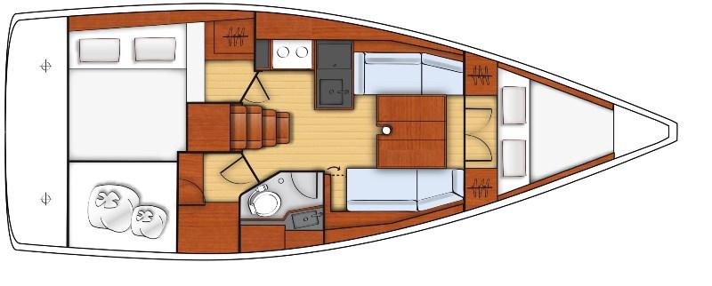 Navalia - Imbarcazione Oceanis 35.1 13