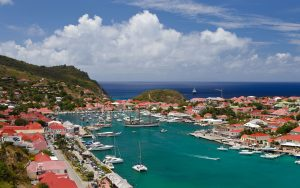 CTK3BK Harbor at Gustavia in St. Barts