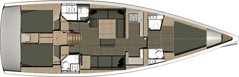 Navalia - Imbarcazione Dufour 512 GL 13