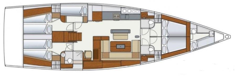 Navalia - Imbarcazione Hanse 575 a Trogir (Gastro Route) 13