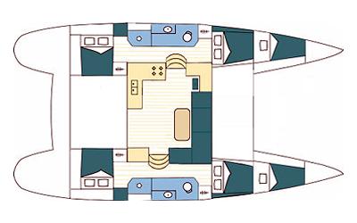 Navalia - Imbarcazione Lagoon 39 a Trogir (Gastro Route) 12