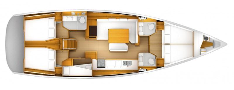 Navalia - Imbarcazione Sun Odyssey 509 a Trogir (Historical Route) 12