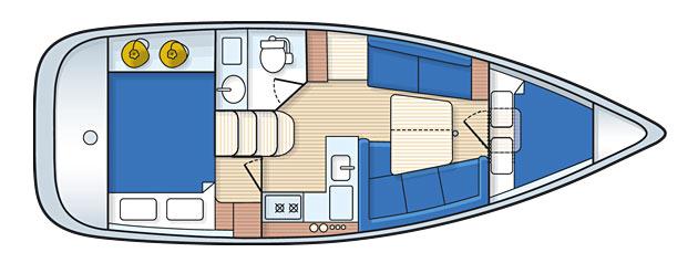 Navalia - Imbarcazione Hunter 31 2