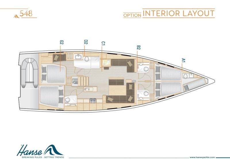 Navalia - Imbarcazione Hanse 548 13
