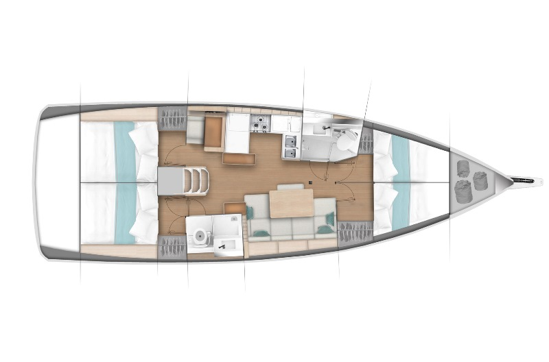 Navalia - Imbarcazione Sun Odyssey 440 13