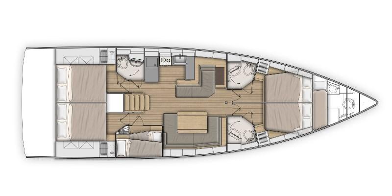 Navalia - Imbarcazione Oceanis 51.1 13