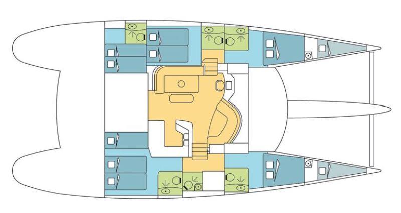 Navalia - Imbarcazione Eleuthera 60 alle Seychelles 13