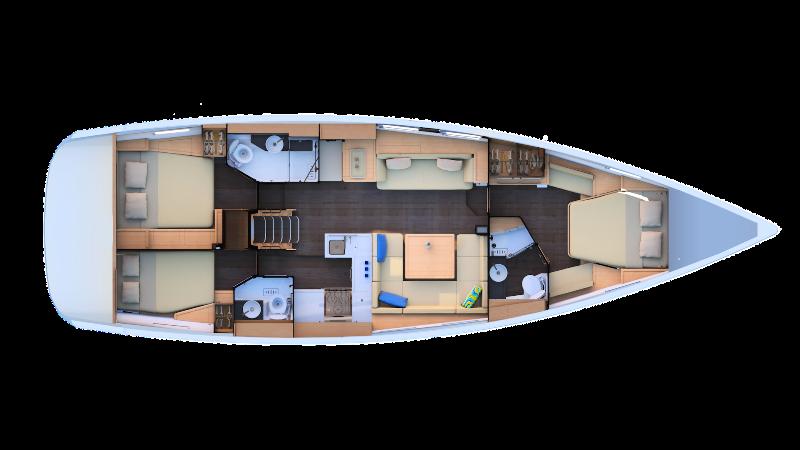 Navalia - Imbarcazione Jeanneau 51 13