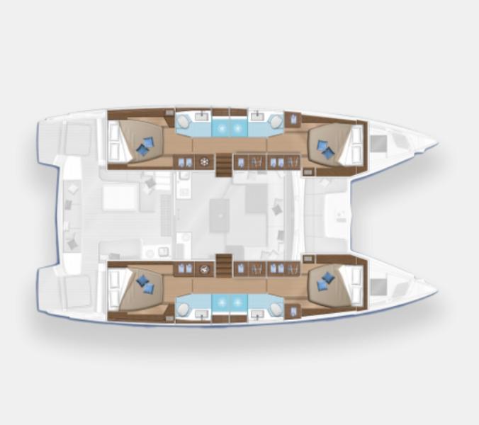 Navalia - Imbarcazione Lagoon 50 Fly 13