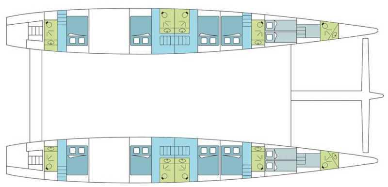 Navalia - Imbarcazione Dream 82 in Thailandia 12