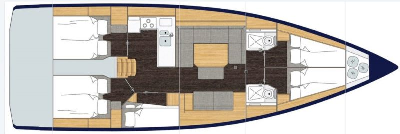 Navalia - Imbarcazione Bavaria Cruiser 45 Holiday 13