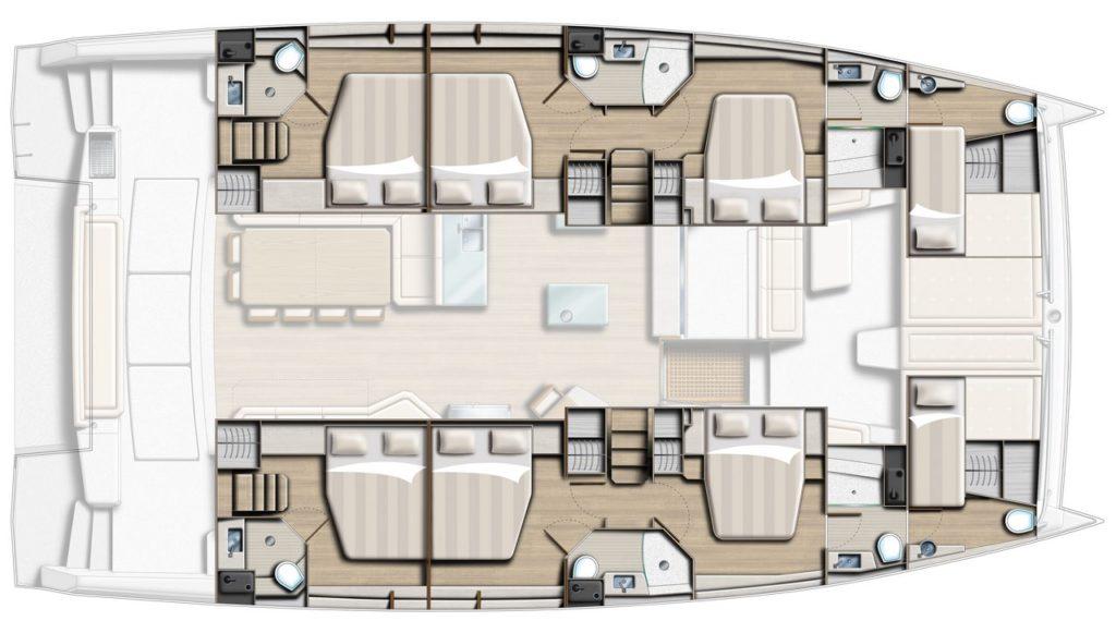 Navalia - Imbarcazione Bali 5.4 in Martinica 4