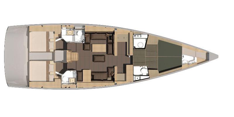Navalia - Imbarcazione Dufour 56 Exclusive 13