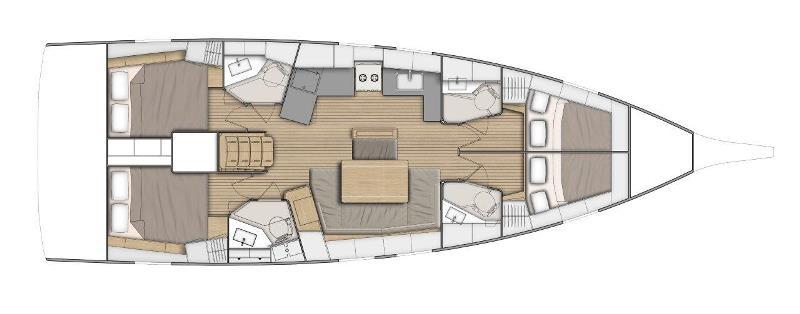 Navalia - Imbarcazione Oceanis 46.1 13