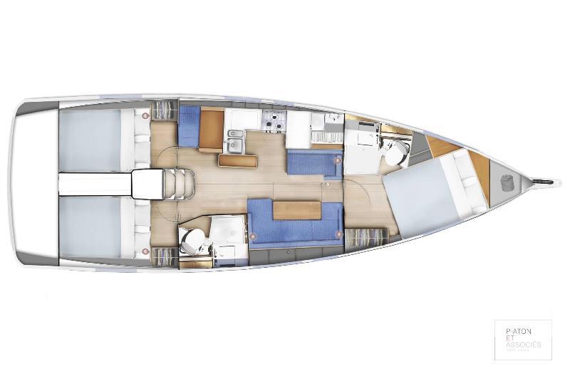 Navalia - Imbarcazione Sun Odyssey 410 12