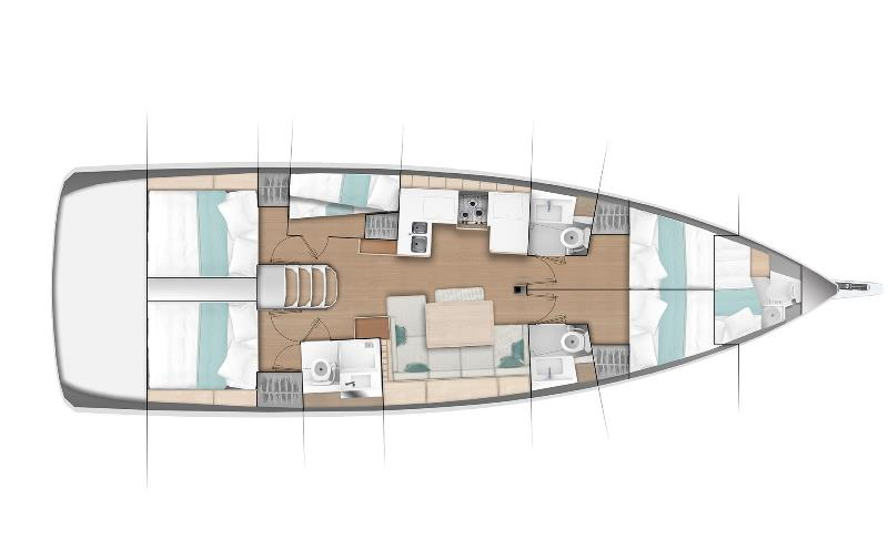 Navalia - Imbarcazione Sun Odyssey 490 13