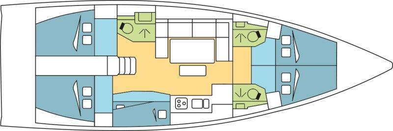 Navalia - Imbarcazione Dufour 460 13