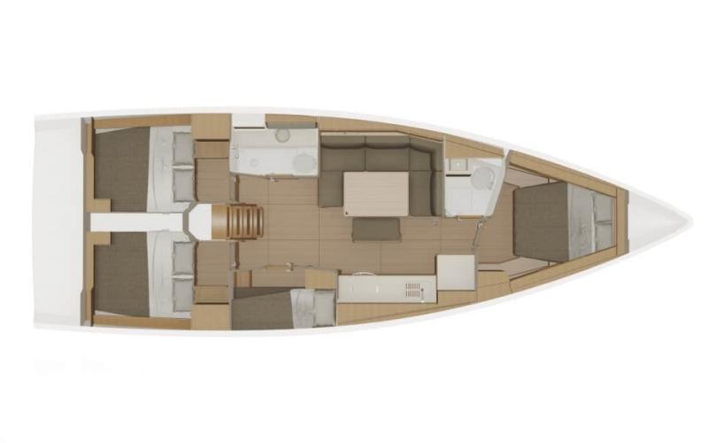 Navalia - Imbarcazione Dufour 430 Grand Large 13