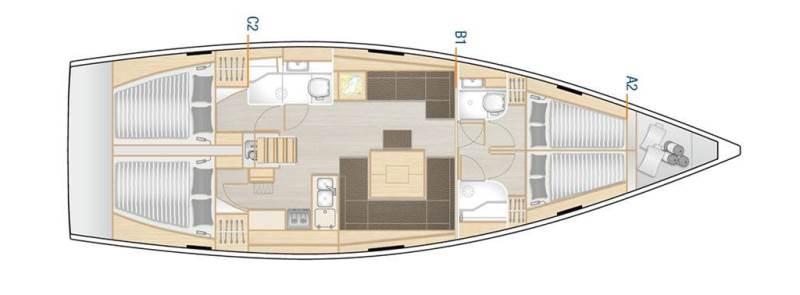 Navalia - Imbarcazione Hanse 458 13
