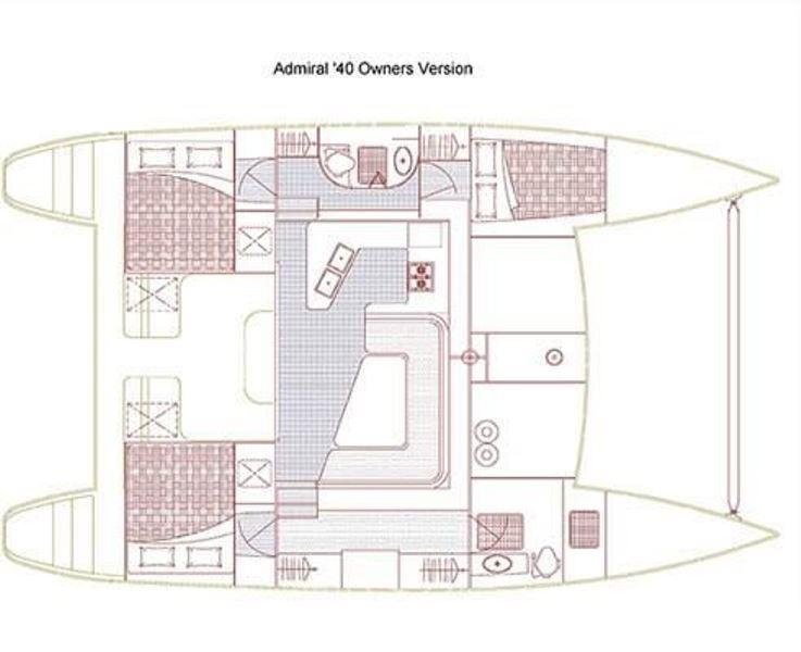 Navalia - Imbarcazione Admiral 40 13