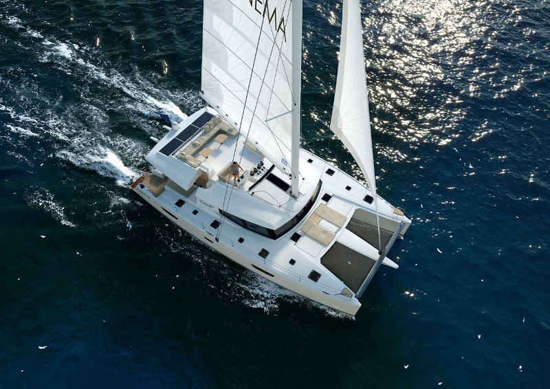 Navalia - Imbarcazione Ipanema 58 a Nassau 2
