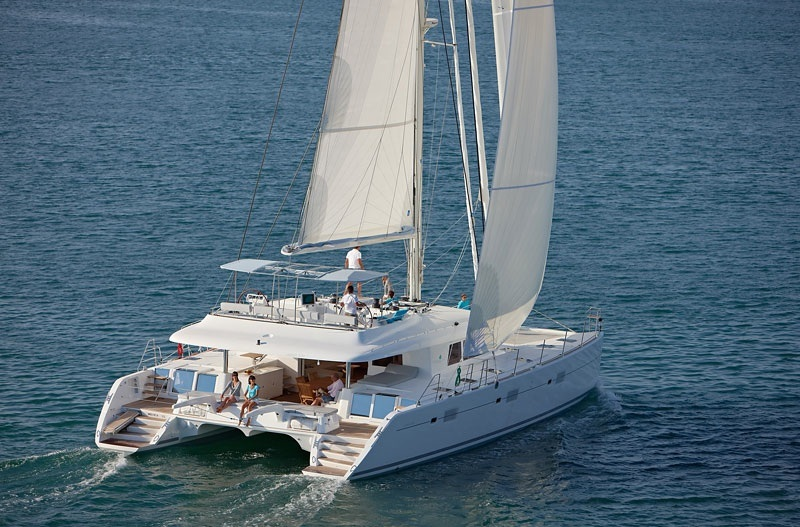 Navalia - Imbarcazione Lagoon 620 alle Seychelles 2