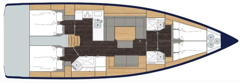 Navalia - Imbarcazione Bavaria C45 Holiday 12