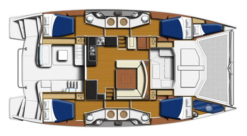 Navalia - Imbarcazione Moorings 4800 12