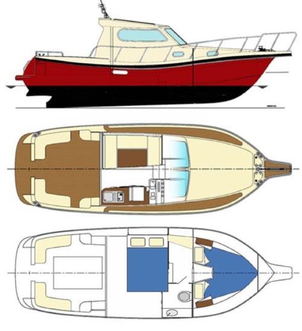 Navalia - Imbarcazione Damor 980 Fjera 12