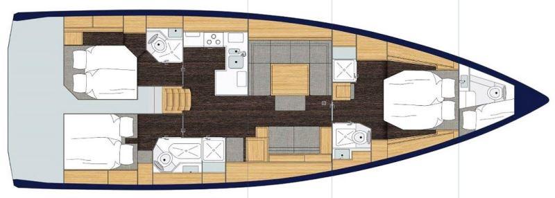 Navalia - Imbarcazione Bavaria C50 Style 13