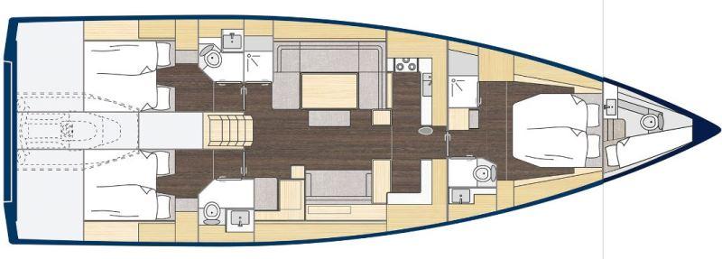 Navalia - Imbarcazione Bavaria C57 Style 13