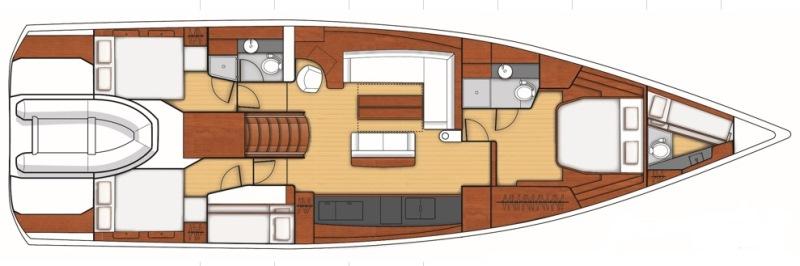 Navalia - Imbarcazione Oceanis Yacht 62 13