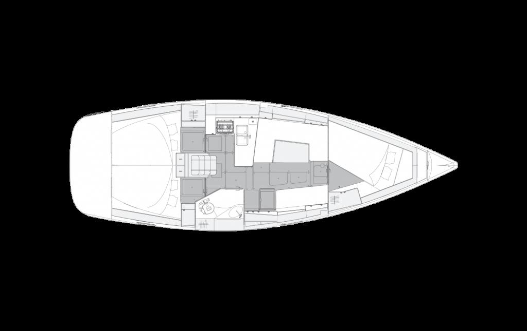 Navalia - Imbarcazione Elan Impression 40 – 3 cab. con 1 wc 14