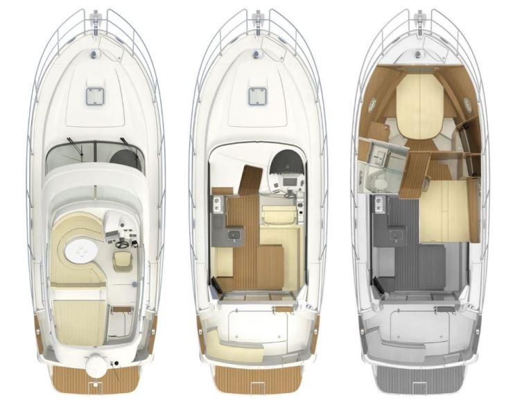 Navalia - Imbarcazione Antares 8 OB 11