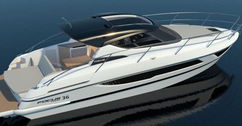 Navalia - Imbarcazione Focus Power 36 Hard Top 5