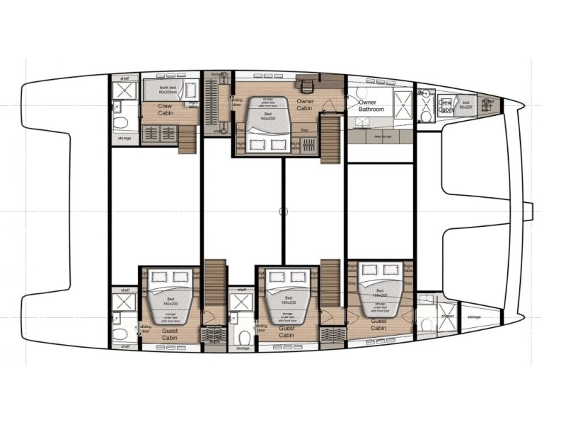 Navalia - Imbarcazione Sunreef 60 13