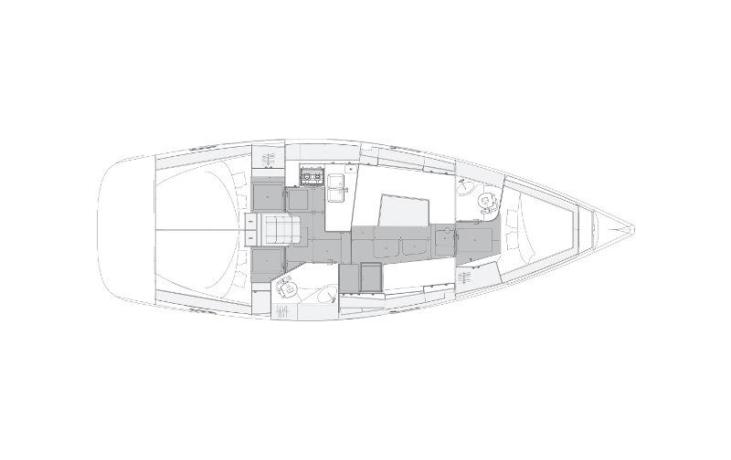 Navalia - Imbarcazione Elan Impression 40.1 – 3 cab. 13