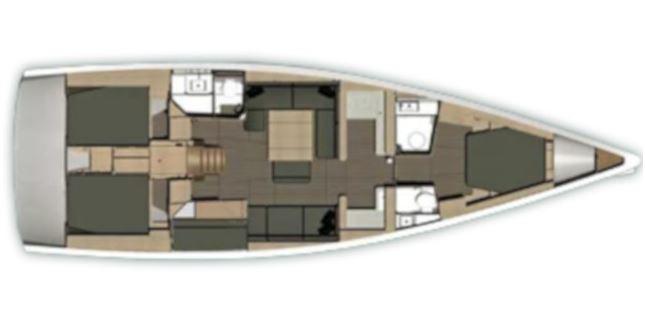 Navalia - Imbarcazione Dufour 512 – 4 cab. con 2 wc 13