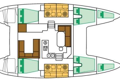 Navalia - Imbarcazione Lagoon 400 ad Atene 10