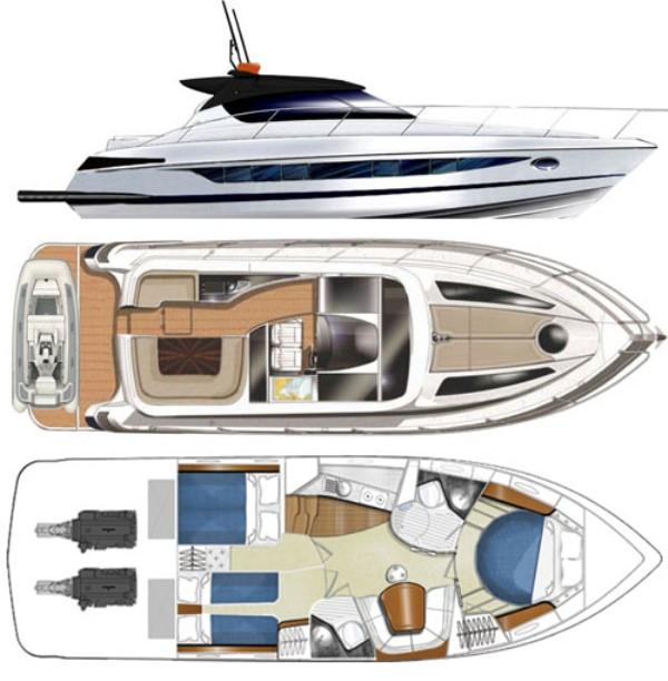 Navalia - Imbarcazione Focus Power 44 Hard Top 6